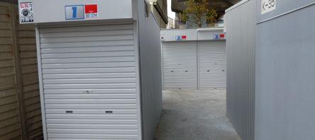 2012年5月完成 オリジナルガレージのバイクパーキングです