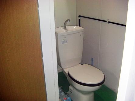 男女共同トイレ完備