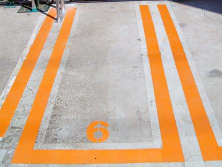 駐車スペース拡大