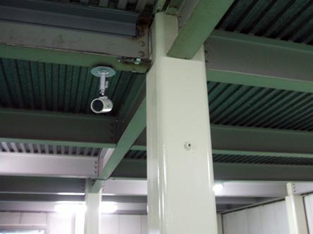 24h監視録画カメラ完備