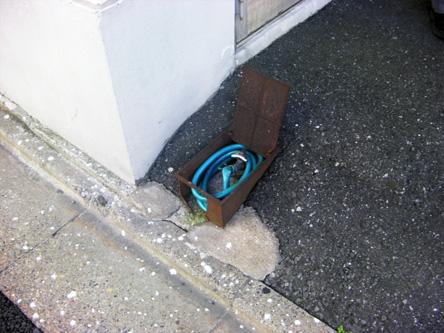 水道完備 洗車利用可能