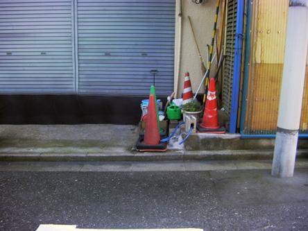 洗車スペース 水洗いOKです