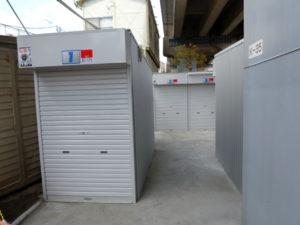 2012年5月完成 オリジナルガレージのバイクパーキングです バイクパーキング東葛西3
