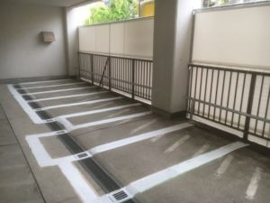 江東区大島 バイクパーキング(ピロティータイプ)